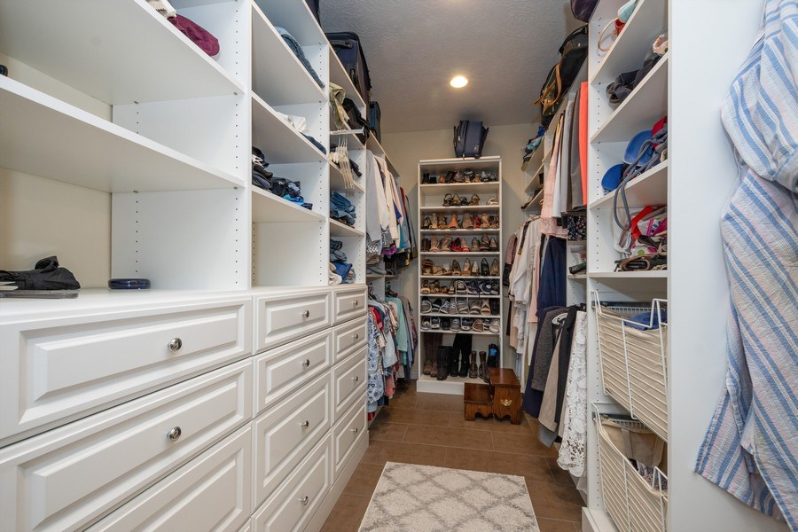 Real Estate Photography - 12979 S. Cindy Lane, Draper, UT, 84020 - Master Bedroom Closet