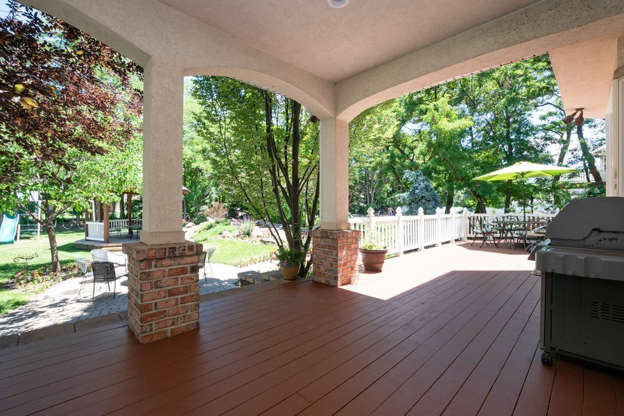 Real Estate Photography - 12979 S. Cindy Lane, Draper, UT, 84020 - Deck