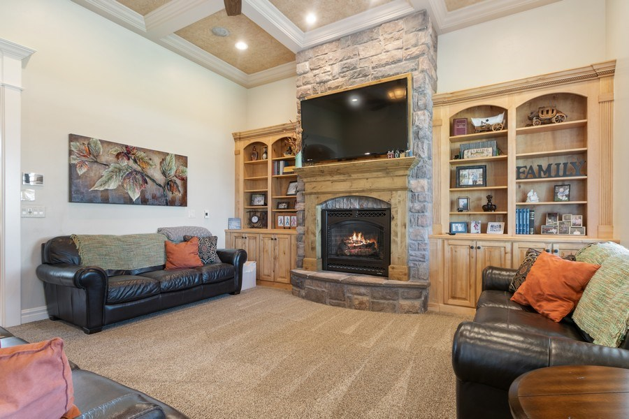Real Estate Photography - 2683 North 750 East, Lehi, UT, 84043 - Living Room