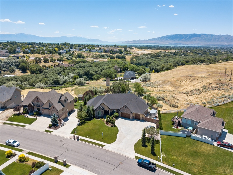 Real Estate Photography - 2683 North 750 East, Lehi, UT, 84043 - Aerial View