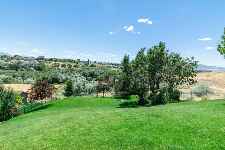 Real Estate Photography - 2683 North 750 East, Lehi, UT, 84043 - Back Yard