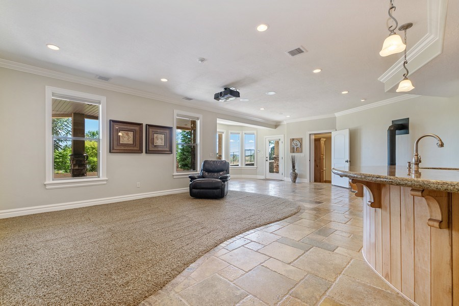 Real Estate Photography - 2683 North 750 East, Lehi, UT, 84043 - Family Room