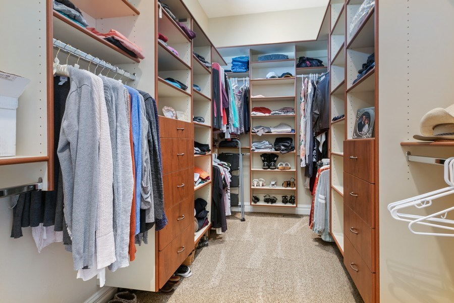 Real Estate Photography - 2683 North 750 East, Lehi, UT, 84043 - Master Bedroom Closet