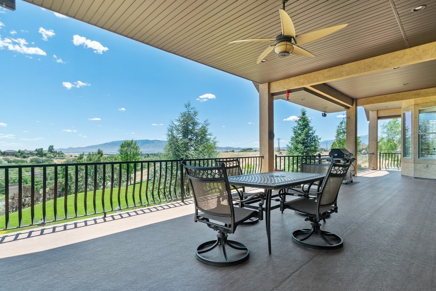 Real Estate Photography - 2683 North 750 East, Lehi, UT, 84043 - Deck