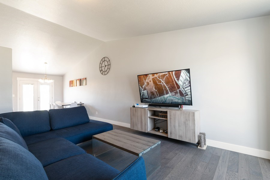 Real Estate Photography - 2358 E Jim Bridger Dr, Eagle Mountain, UT, 84005 - Living Room