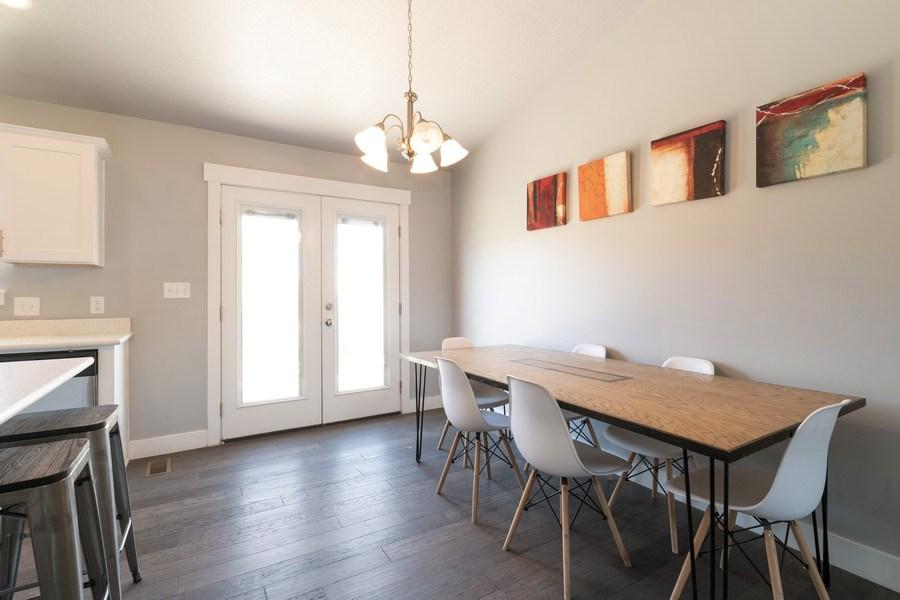 Real Estate Photography - 2358 E Jim Bridger Dr, Eagle Mountain, UT, 84005 - Dining Room