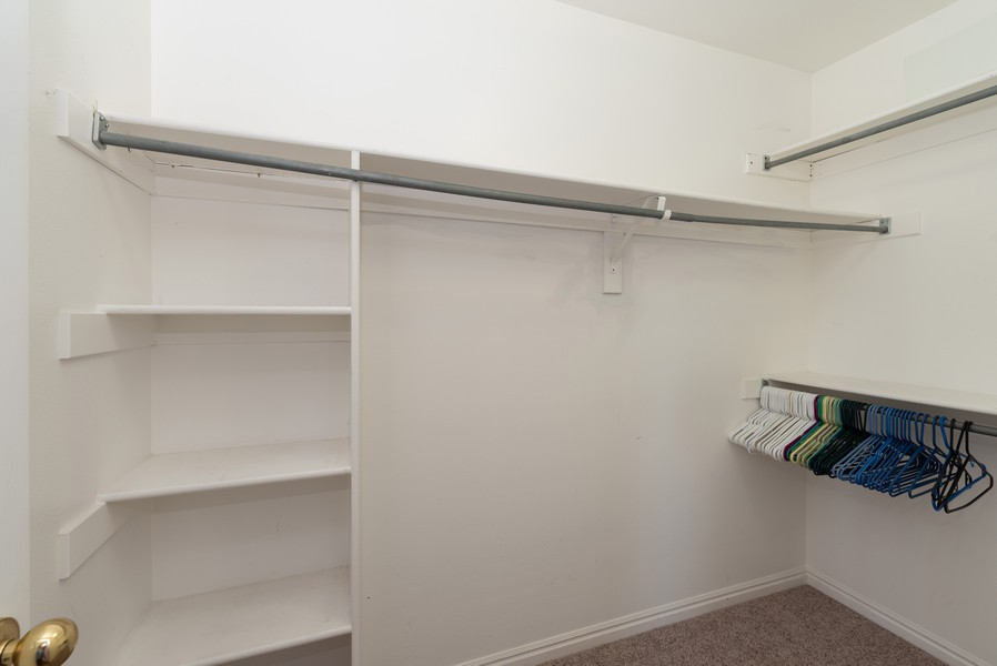 Real Estate Photography - 578 South 900 West, Tooele, UT, 84074 - Master Bedroom Closet