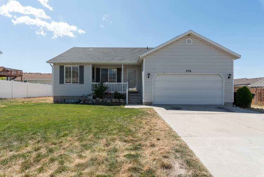 Real Estate Photography - 578 South 900 West, Tooele, UT, 84074 - Front View