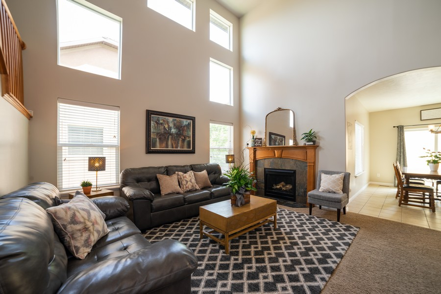 Real Estate Photography - 2922 E Lookout Dr, Eagle Mountain, UT, 84005 - Living Room