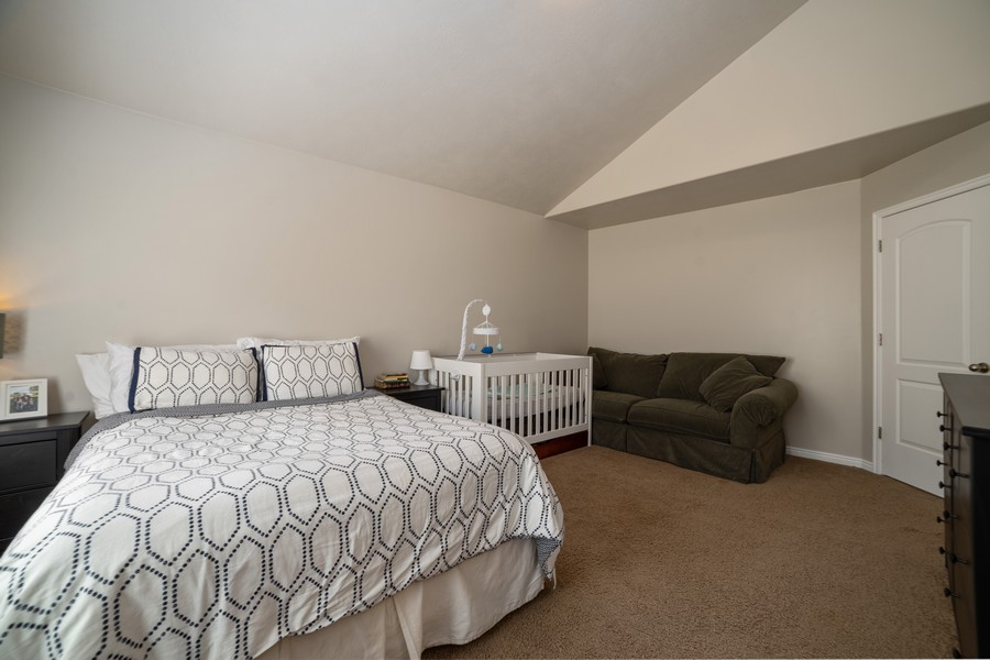 Real Estate Photography - 2922 E Lookout Dr, Eagle Mountain, UT, 84005 - Master Bedroom