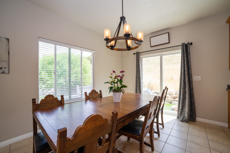 Real Estate Photography - 2922 E Lookout Dr, Eagle Mountain, UT, 84005 - Dining Area 2
