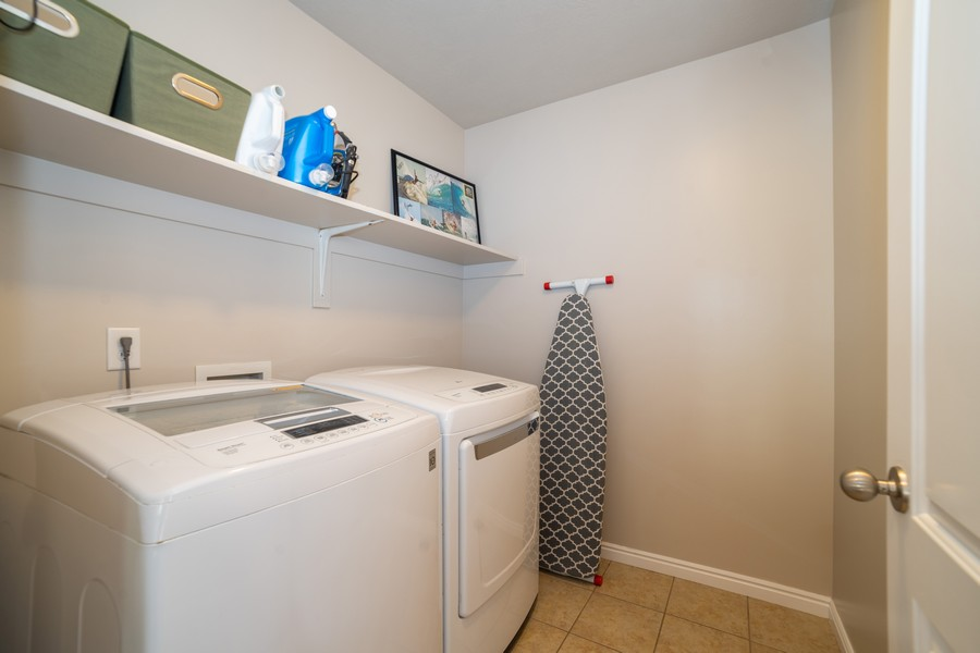 Real Estate Photography - 2922 E Lookout Dr, Eagle Mountain, UT, 84005 - Laundry Room