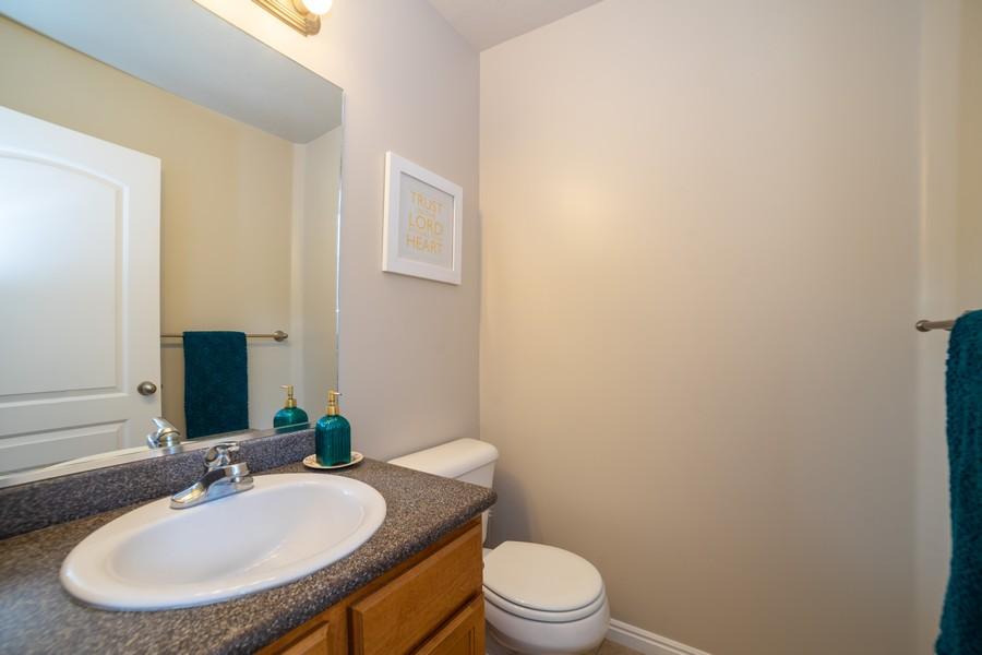 Real Estate Photography - 2922 E Lookout Dr, Eagle Mountain, UT, 84005 - Half Bath