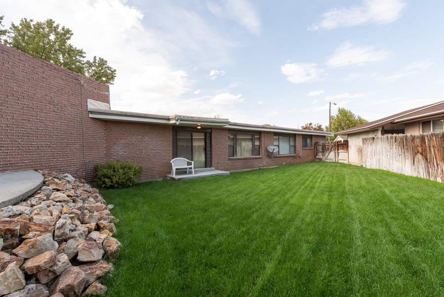 Real Estate Photography - 5718 S 625 E, Murray, UT, 84107 - Back Yard
