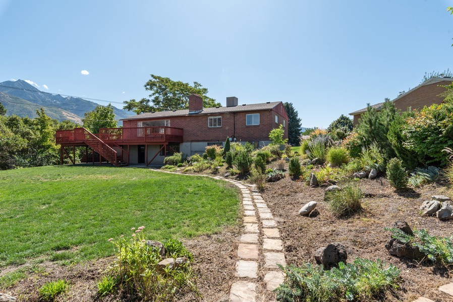 Real Estate Photography - 2731 E Carole Drive, Cottonwood Heights, UT, 84121 - Back Yard