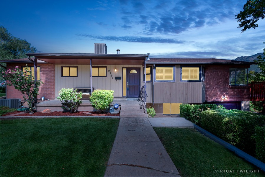 Real Estate Photography - 2731 E Carole Drive, Cottonwood Heights, UT, 84121 - Front View