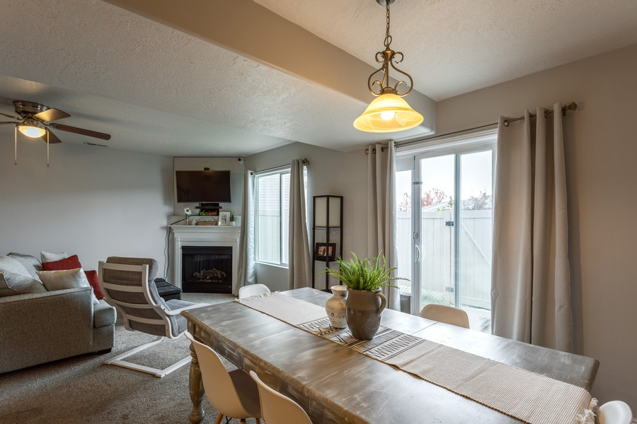 Real Estate Photography - 652 W 800 N #45, Clinton, UT, 84015 - Dining Room