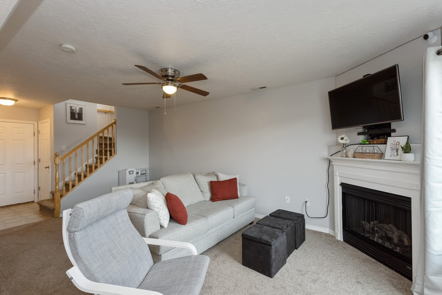 Real Estate Photography - 652 W 800 N #45, Clinton, UT, 84015 - Family Room