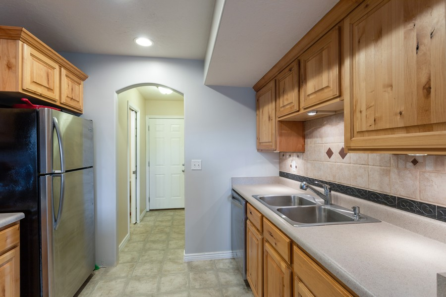 Real Estate Photography - 652 W 800 N #45, Clinton, UT, 84015 - Kitchen