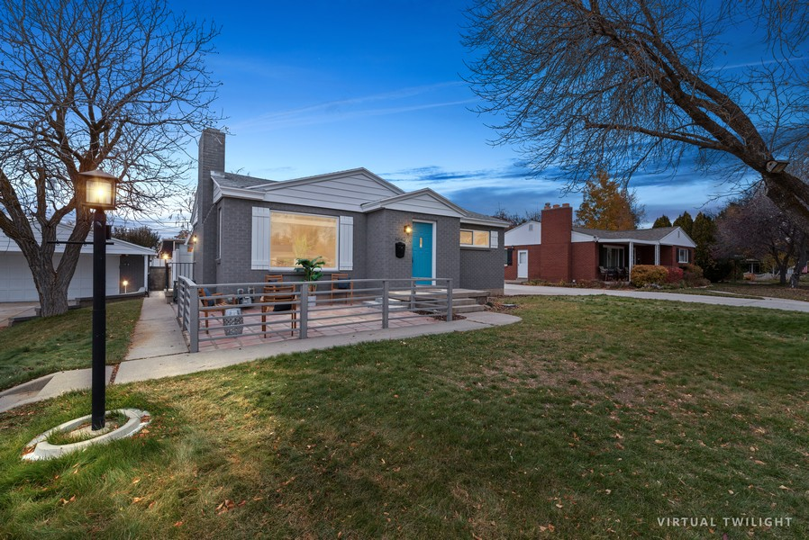 Real Estate Photography - 4642 S Brookwood Dr, Millcreek, UT, 84117 - Front View