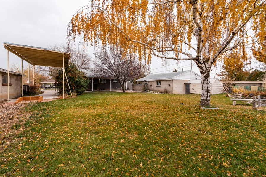 Real Estate Photography - 4642 S Brookwood Dr, Millcreek, UT, 84117 - Rear View