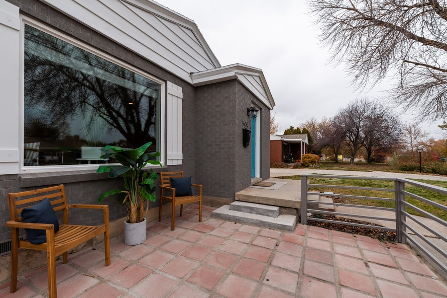 Real Estate Photography - 4642 S Brookwood Dr, Millcreek, UT, 84117 - Patio