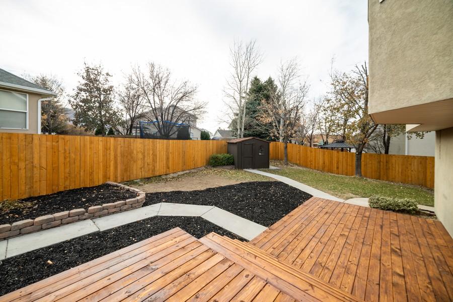 Real Estate Photography - 2012 E Ashley Mesa Ln, Sandy, UT, 84092 - Back Yard