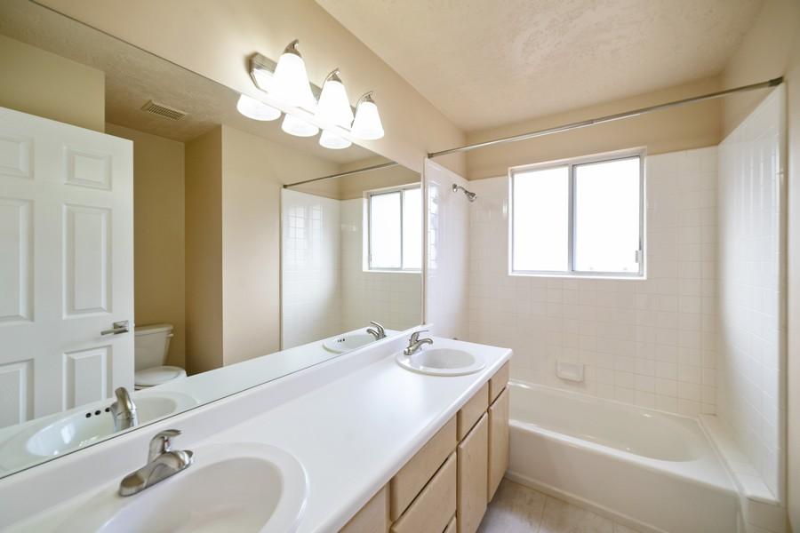 Real Estate Photography - 2012 E Ashley Mesa Ln, Sandy, UT, 84092 - 2nd Bathroom