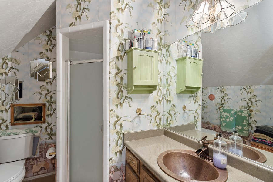 Real Estate Photography - 1789 N Stayner Dr, Farmington, UT, 84025 - Master Bathroom
