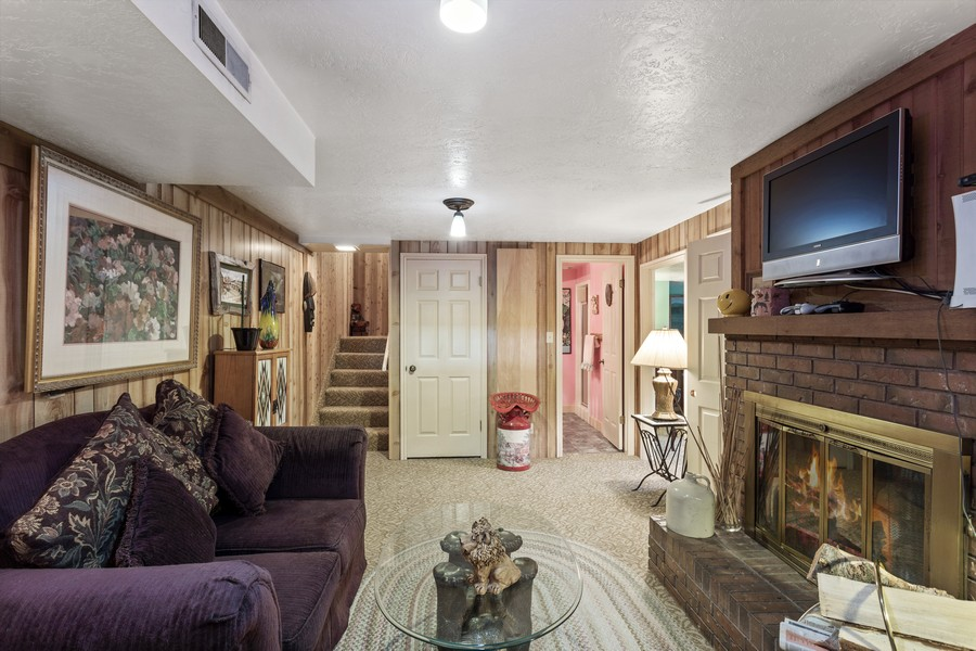 Real Estate Photography - 1789 N Stayner Dr, Farmington, UT, 84025 - Den